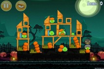Angry Birds Seasons Ham'o'ween Level 2-4 Walkthrough