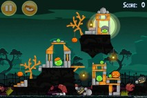 Angry Birds Seasons Hamoween Level 2-5
