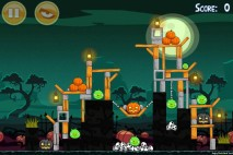 Angry Birds Seasons Ham'o'ween Level 2-7 Walkthrough
