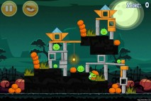 Angry Birds Seasons Ham'o'ween Level 2-8 Walkthrough