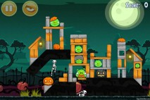 Angry Birds Seasons Hamoween Level 2-9