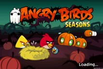 Angry Birds Seasons Hamoween Splash Screen