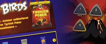 Angry Birds Tyrkisk Peber