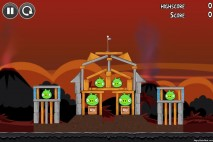Angry Birds Volcano Level 1 Walkthrough