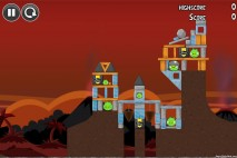 Angry Birds Volcano Level 2 Walkthrough