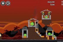 Angry Birds Volcano Level 3 Walkthrough