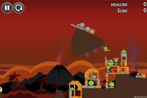 Angry Birds Volcano Level 4 Walkthrough