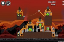 Angry Birds Volcano Level 5 Walkthrough