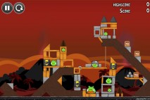 Angry Birds Volcano Level 6 Walkthrough
