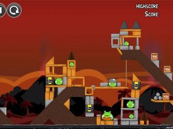 Angry Birds Volcano Level 6