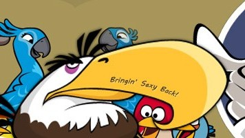 Mighty Eagle Now Available in Angry Birds Rio
