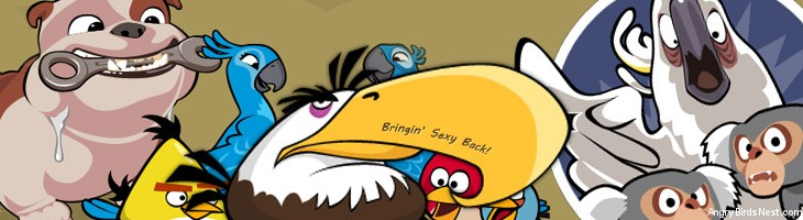 angry birds meet the mighty eagle