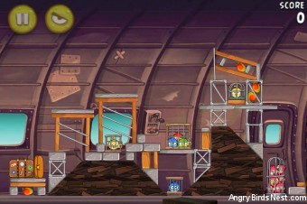 Angry Birds Rio Mango #4 Walkthrough Level 10 (11-10)