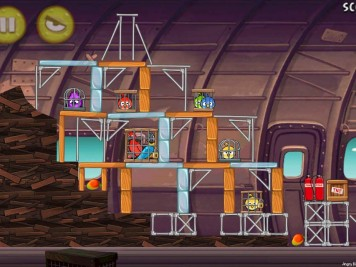 Angry Birds Rio Smugglers Plane Level 11-15