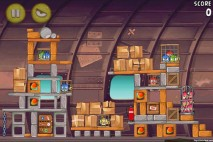 Angry Birds Rio Smugglers Plane Level 11-3