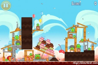 Angry Birds Golden Egg #27 Walkthrough