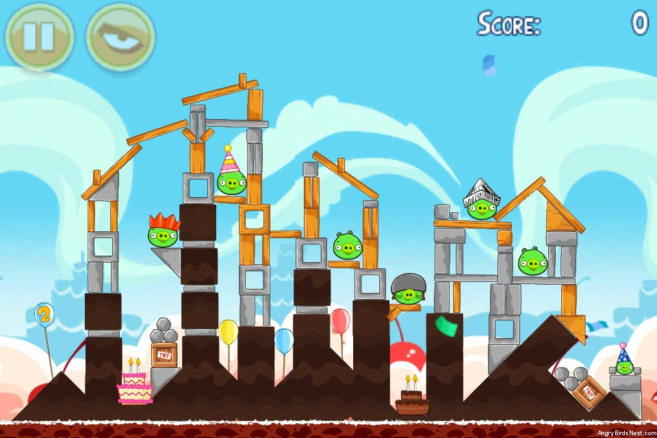Angry Birds Birdday Party Level 18-13
