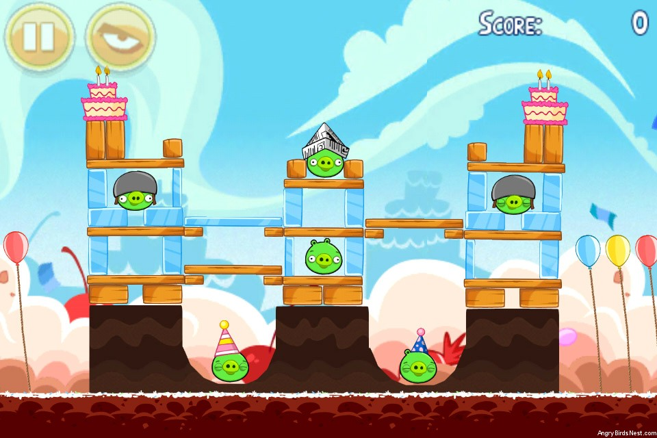 Angry Birds Birdday Party Level 18-4