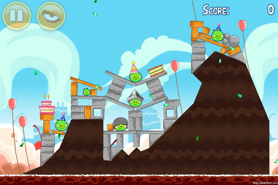 Angry Birds Birdday Party Level 18-7