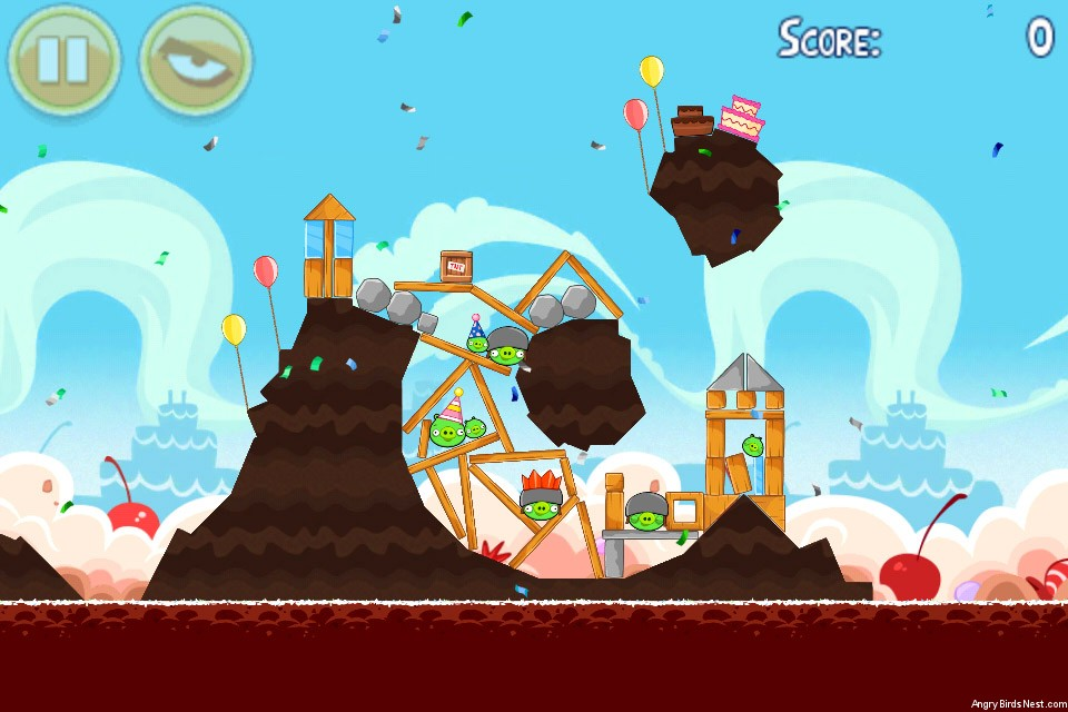 Angry Birds Birdday Party Level 18-8