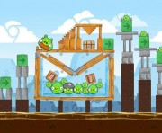Angry Birds Chrome Logo Location Level 6-9