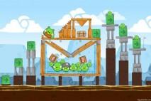 Angry Birds Chrome Dimension Level #11 Walkthrough