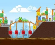 Angry Birds Chrome Logo Location Level 6-13
