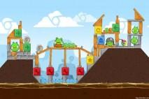 Angry Birds Chrome Dimension Level #12 Walkthrough