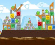 Angry Birds Chrome Logo Location Level 7-8