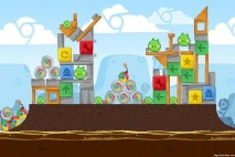 Angry Birds Chrome Dimension Level #13 Walkthrough