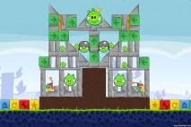 Angry Birds Chrome Dimension Level #14 Walkthrough