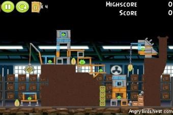 Angry Birds Pistachios Factory Level 1-3 Walkthrough