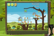 Angry Birds Pistachios Orchard Level 1-1 Walkthrough
