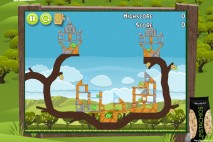 Angry Birds Pistachios Harvest Level 1-2 Walkthrough