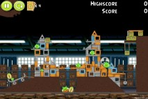 Angry Birds Pistachios Warehouse Level 1-4 Walkthrough
