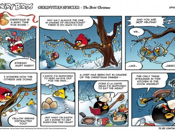 Angry Birds Seasons Christmas Comic Part 1