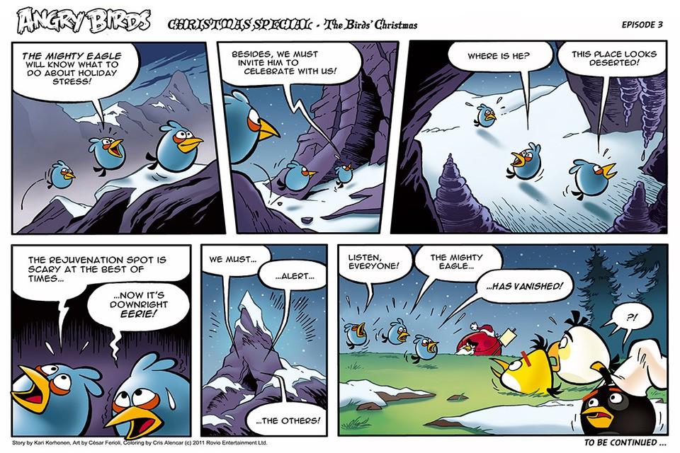 angry birds seasons christmas comic all parts