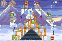 Angry Birds Seasons Wreck the Halls Level 1-10 Walkthrough