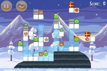 Angry Birds Seasons Wreck the Halls Level 1-11 Walkthrough