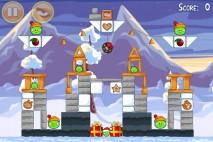 Angry Birds Seasons Wreck the Halls Level 1-12 Walkthrough