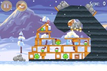 Angry Birds Seasons Wreck the Halls Level 1-13 Walkthrough