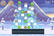 Angry Birds Seasons Wreck the Halls Level 1-16 Walkthrough