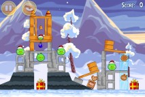 Angry Birds Seasons Wreck the Halls Level 1-17 Walkthrough