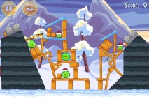 Angry Birds Seasons Wreck the Halls Level 1-18 Walkthrough