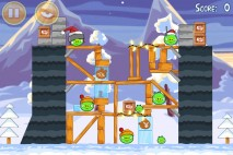 Angry Birds Seasons Wreck the Halls Level 1-19