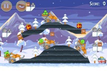 Angry Birds Seasons Wreck the Halls Level 1-20 Walkthrough