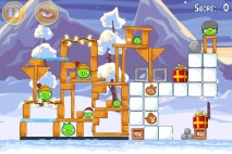 Angry Birds Seasons Wreck the Halls Level 1-22 Walkthrough