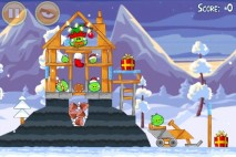 Angry Birds Seasons Wreck the Halls Level 1-23 Walkthrough