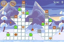 Angry Birds Seasons Wreck the Halls Level 1-6
