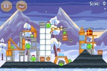 Angry Birds Seasons Wreck the Halls Level 1-7